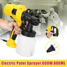 600W 110V Electric Spray Gun Paint Cars Home Wood Furniture Wall Paint Sprayer
