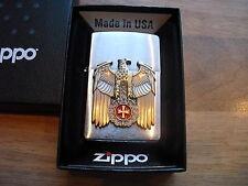 Zippo Original Sturmfeuerzeug Sammlerfeuerzeug Wehrmacht  Eisernes Kreuz Adler