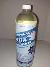 Advanage 20X Clear Biodegradable Cleaner Advantage NEW Sealed.