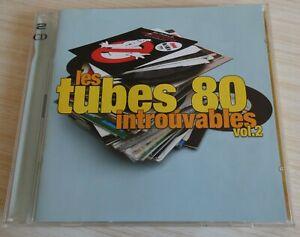 2 CD ALBUM L'ESSENTIEL TUBES 80 LES INTROUVABLES VOL.2 COMPILATION 40 TITRE 2004