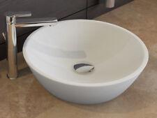 AQUA BAGNO Keramik Waschschale  45cm  Aufsatzbecken ohne Überlauf