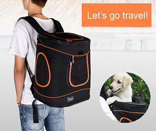 Portable Small Medium Pet Dog Puppy Cat Travel Backpack Handbag Auto Carrier Bag