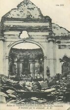 CP GRANDE GUERRE 1914 RUINES EGLISE DE BADONVILLERS