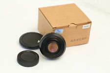Focal Reducer Lens Turbo Adapter for Canon EOS EF Lens to Micro 4/3 GH3 GH4 US