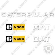 Caterpillar V50D Forklift Decals V-50-D (V 50 D)