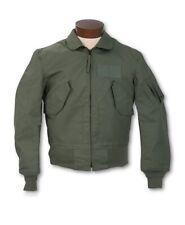 GI Men's Summer Flight Jacket CWU-36/P Valley Apparel Sz L 42-44 Sage Green NEW