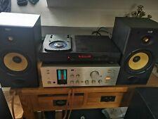 Pair Bowers & Wilkins B&W DM 601 Speakers 100W Black Ash
