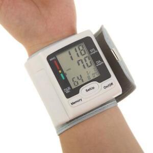 Automatic Digital Wrist Blood Pressure Monitor Machine Home Medical Care PH