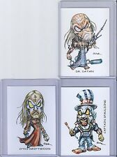 HOUSE OF 1000 CORPSES / DEVILS REJECTS ** TRADING CARD ART SIGNED by RAK ** NM