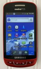 Samsung Admire SCH-R720MR Red Android Smart Phone Metro PCS WiFi 3.5 LCD