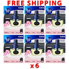 6 x Ambi Pur Car Fragrance For Her Refill 7ml