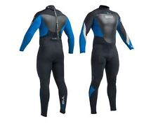 2018 Gul Response 5/3mm Back Zip GBS Wetsuit Black / Blue Re1213-b1 Large Tall