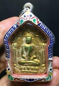 Thai Amulet KHUN PHAN LP TIM WAT RAHARN RAI TRA KRUD OLD CASE