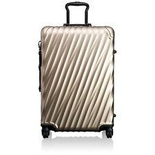 Tumi 19 Degree ALUMINUM Short Trip Packing Case Ivory Gold Spinner Luggage 36864