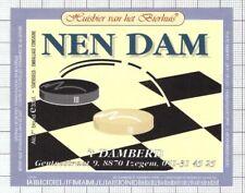 BELGIUM Micro,Huisbier van het Bierhuis NEN DAM t Damberd beer label C2184 107
