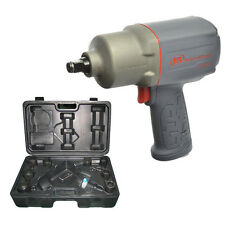 """New Ingersoll Rand 1/2"""" Air Impact Wrench 2235TIMAX-KIT Inc 10 pce Accessory Kit"""