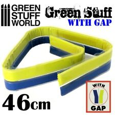 "Green Stuff World Kneadatite Blue/Yellow Green Stuff 18"" / 46cm Epoxy Putty Bar"