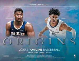 CELTICS 2020-21 Panini Origins Basketball Hobby 12 Box Case TEAM Break #5