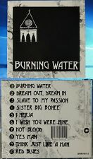 Burning Water - Burning Water (CD, Smashed Hits, US Indie) VERY RARE