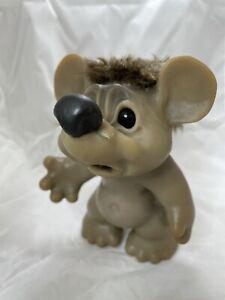 Vintage Dam rat / mouse sad face 1967