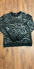 Authentic Mens Kenzo Black Sweater Size XL