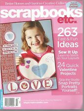 Scrapbooks Etc February March 2008 Valentine Projects/Sewing/Snap Portraits