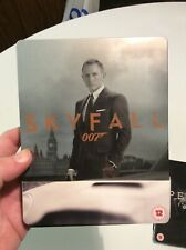SKYFALL James Bond 007 STEELBOOK 2 Disc BLU-RAY DVD
