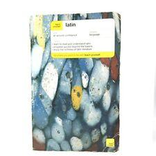 Teach Yourself Latin Language Gavin Betts 2003 Paperback ISBN 9780071421591