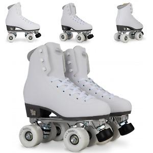 Rookie Skates Künstlerisch Feste Größe Rollschuhe, Weiß
