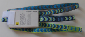 UNDER ARMOUR Girls Graphic Non Slip Athletic Headbands 3 Pack New