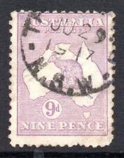 Australia: 1915 Roo 9d SG 39 used