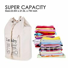 Large Size Travel Laundry Storage Duffle Bag with Pockets Heavy Duty Backpack