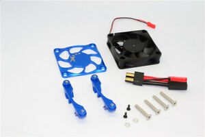 Aluminum Cover + Plastic Fan Motor Heat Sink for 1/5 TRAXXAS X-MAXX XMAXX 8S/6S