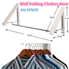 Instahanger Clothes Line Laundry Rack Wall Mounted Folding Clothes Airer NEW