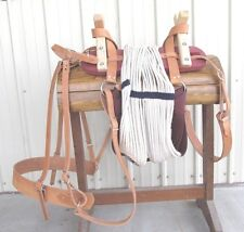 USA Built Sawbuck Pack Saddle w/ Nylon Latigos Double Rigging Horse Mule Packing