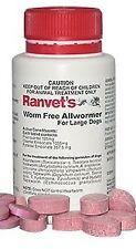 Ranvet Allwormer 25kg Worm Free Single Tablet Dosage