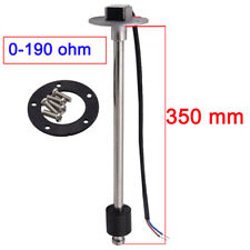 350mm Marine Boat Water Tank Fuel Level Sensor Sending Unit Sender 0-190ohms New