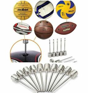 Inflating Pump Needle Football Ball Rugby Volleyball Valve Adapter Needle Pin