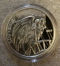 NEW! Angels & Demons Steampunk Louvenia 1 OZ 999 Silver Proof fairy girl aviator