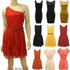 Women's Skater Strappy, Spaghetti Strap Knee Length Party Dresses