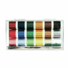 Madeira Embroidery Thread Kit - 18 x 200m Spools - No. 40 Rayon