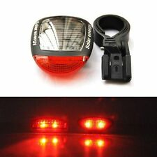 Hot Sale 3 Models Solar Power Bicycle Bike Safty Tial Light 2 LED Rear Flashing