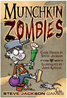 Munchkin Zombies Color Card Game Steve Jackson Games SJG 1481 Halloween Horror