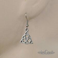 bijou celtique gothic Boucles d'oreilles avec pendentif celte Le triquetra