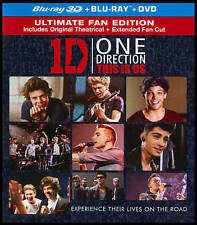 ONE DIRECTION: THIS IS US USED - VERY GOOD REGION B BLU-RAY