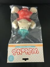 WubbaNub Infant Baby Soothie Pacifier Baby Red PJ Bear New Authentic Wubbanub