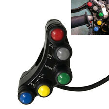 12V 7 Buttons ATV Motorcycle Switch Assembly 22mm Handlebar Moment/Latching Good