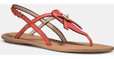 Brand New Coach Camara Thong Sandal_Size 6.5_Watermelon Color