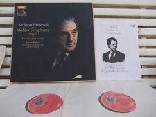 MAHLER: Symphony n°5 + Rückert songs > Baker Barbirolli / EMI SLS 875 2 LPs UK