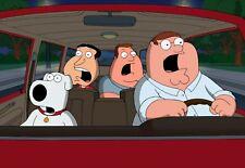 FAMILY GUY - TV SHOW PHOTO #17 - PETER + BRIAN + JOE + QUAGMIRE